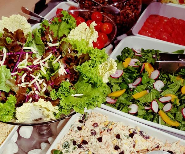 Mesa de Saladas