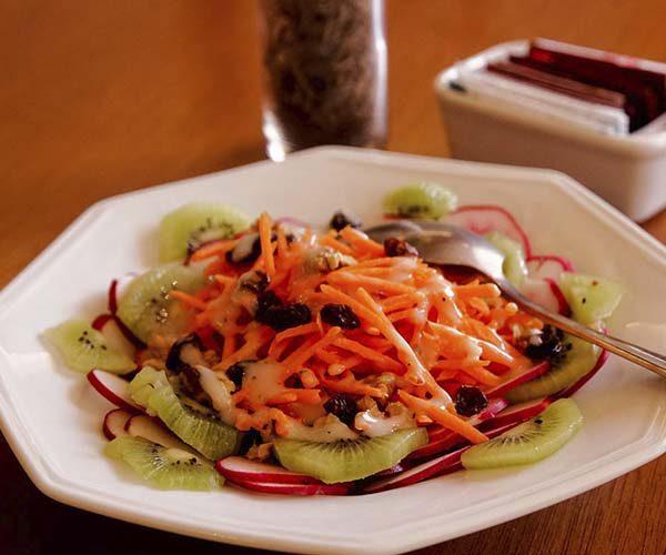 Salada de Kiwi com Rabanete
