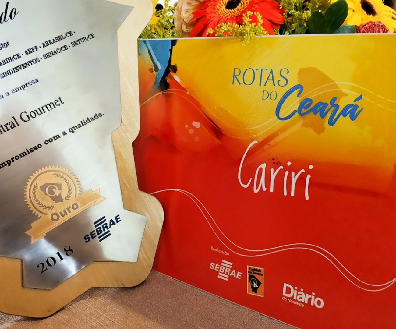 Selo Sebrae Central Gourmet