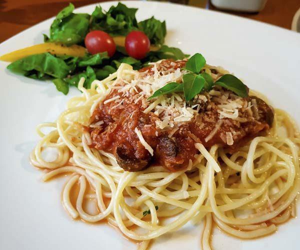 Spaguetti com Molho à Puttanesca